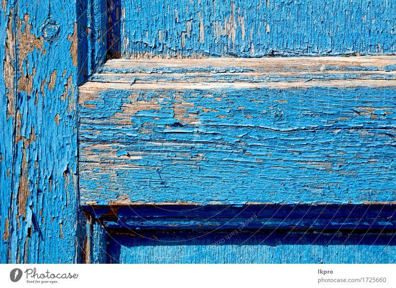 hölzerne alte Tür Stil Design Möbel Tapete Architektur Holz Linie hell natürlich blau schwarz weiß Konstruktion Venen Hintergrund Unschärfe Holzplatte
