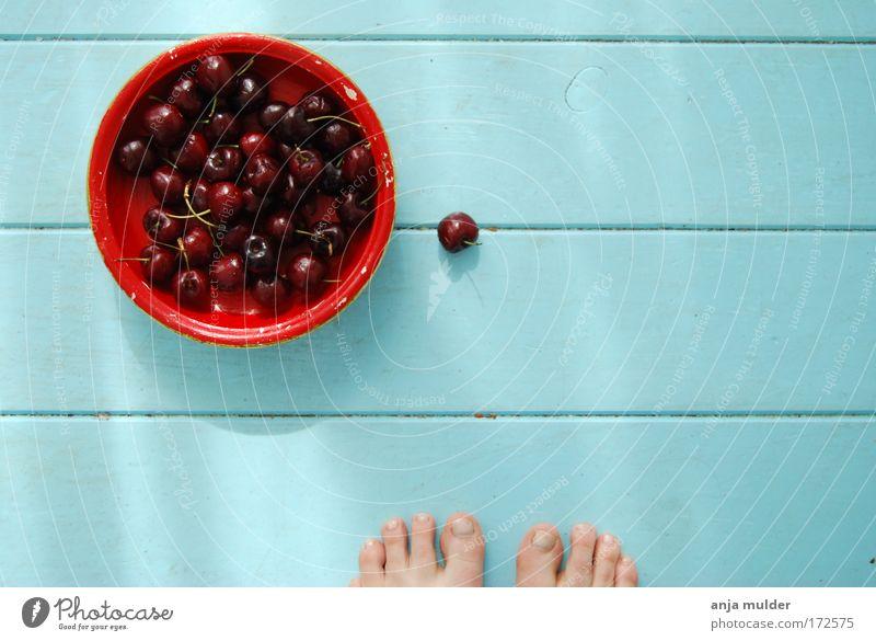 schön Sommer Fuß Frucht Etage Zeit Schalen & Schüsseln Kirsche androgyn Obstkorb babyblau