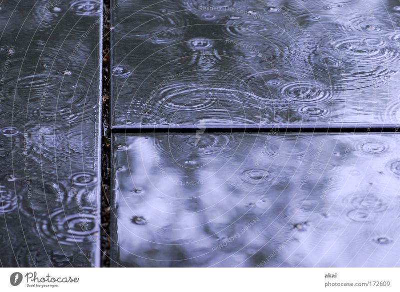 Endlich Regen! Gefühle Stein Traurigkeit Regen nass Wandel & Veränderung Terrasse Glaube