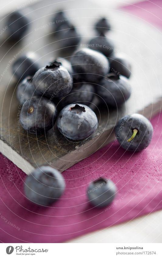 blueberry Lebensmittel Frucht Dessert Marmelade Ernährung Bioprodukte Vegetarische Ernährung Diät frisch süß blau violett rosa Gesundheit Foodfotografie Beeren