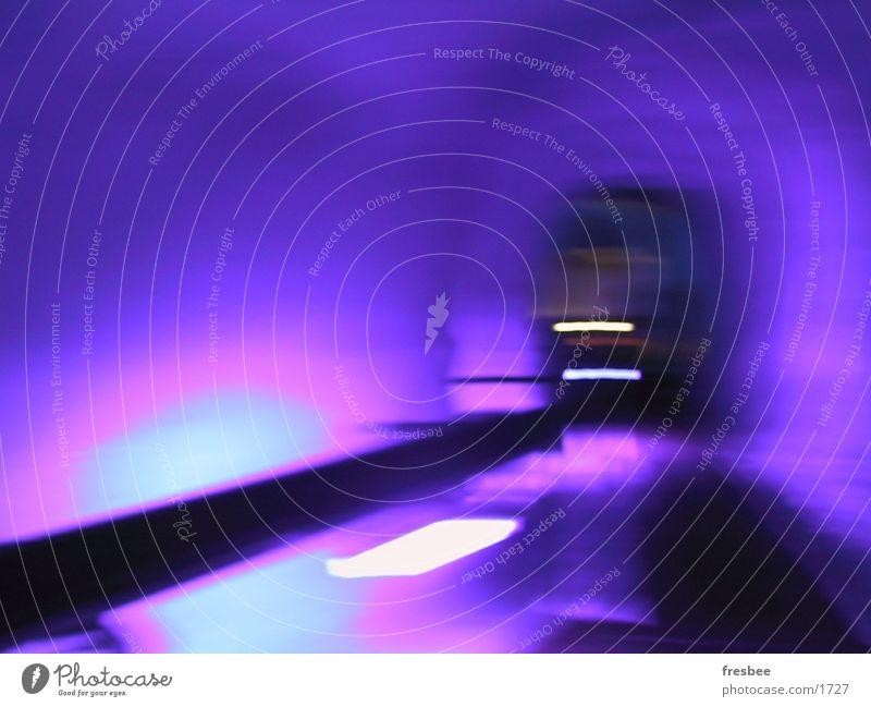 icetunnel violett Tunnel Gletscher unterirdisch Fototechnik Farbe Bewegung Eis Dynamik