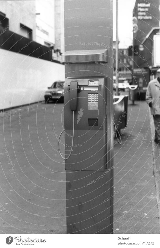 Telefon Telefon Telekommunikation Köln Säule Telefonhörer Telefonzelle Münztelefon