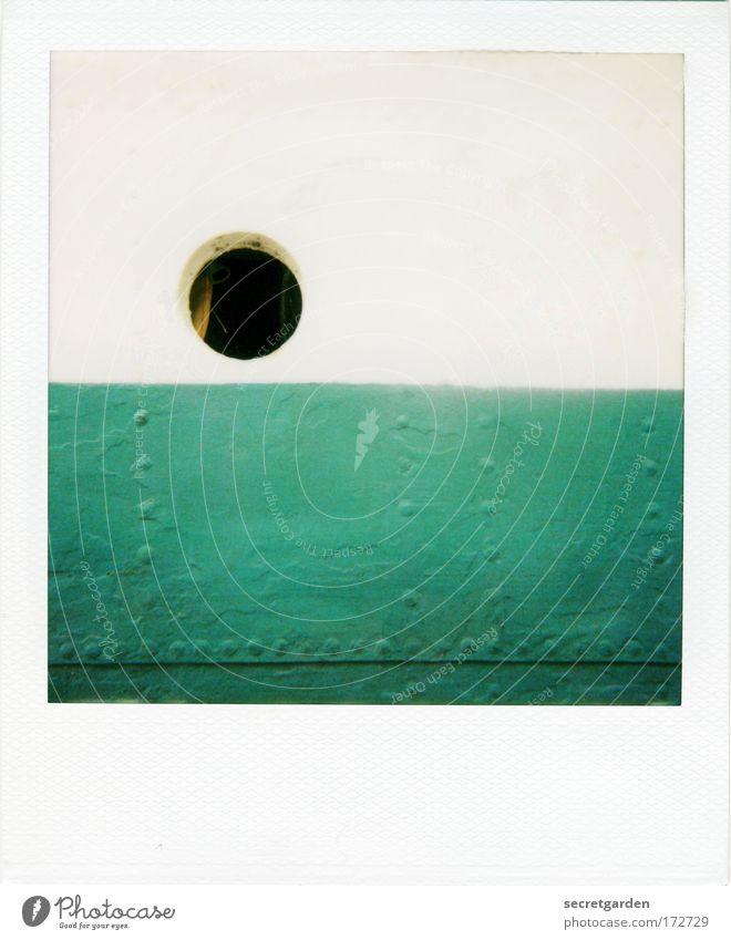 [KI09.1] bulliges auge schön weiß grün dunkel Fenster Linie Zufriedenheit Architektur klein rund Sauberkeit beobachten Konzentration unten Stahl Loch