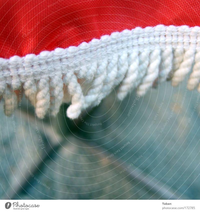 Unter den Linden Detailaufnahme Schwache Tiefenschärfe Ausflug Sommer Garten Tisch ausgehen Dekoration & Verzierung Kunststoff rot weiß Fröhlichkeit