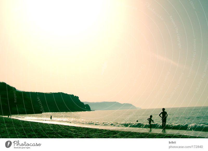 brisa de mar Wasser Himmel Sonne Meer Sommer Strand Ferien & Urlaub & Reisen ruhig Ferne Erholung Freiheit träumen Zufriedenheit Stimmung Wellen Küste
