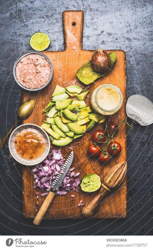Thunfisch Salat Zutaten Lebensmittel Fisch Gemüse Salatbeilage Kräuter & Gewürze Öl Ernährung Mittagessen Büffet Brunch Festessen Bioprodukte