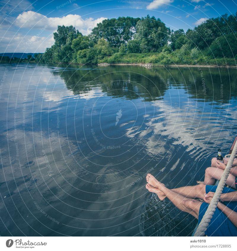 Weserhaushalt Freude Glück Wohlgefühl Schwimmen & Baden Ferien & Urlaub & Reisen Ausflug Freiheit Sommer Sommerurlaub Sonne Sonnenbad Wellen Mensch Freundschaft