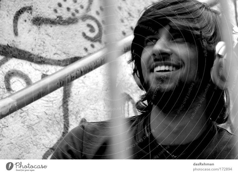 smiler Mensch Jugendliche schön Freude Erwachsene Leben Stil Stimmung Zufriedenheit Kraft maskulin Design Lifestyle 18-30 Jahre Warmherzigkeit Lächeln