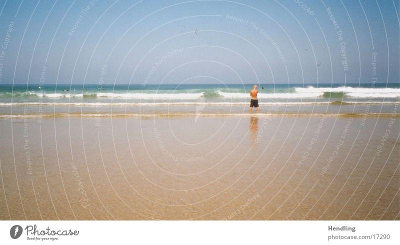 Die Flut kommt Sommer Wärme Wellen Europa Physik Frankreich