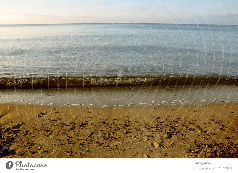 Schwapp Natur Wasser Himmel Meer Strand Ferien & Urlaub & Reisen Ferne Freiheit Sand Zufriedenheit Wellen Küste Umwelt Freizeit & Hobby Ostsee