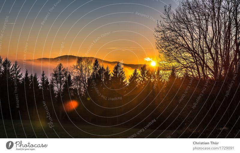 Morgenwanderung Natur Ferien & Urlaub & Reisen Sommer Erholung ruhig Ferne Berge u. Gebirge Leben Gefühle Herbst Wiese Freiheit Felsen Tourismus Zufriedenheit
