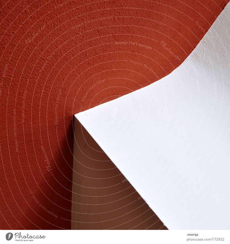 < weiß rot Stil Linie Architektur Design elegant ästhetisch einfach Sauberkeit einzigartig außergewöhnlich Innenarchitektur Grafik u. Illustration Kurve
