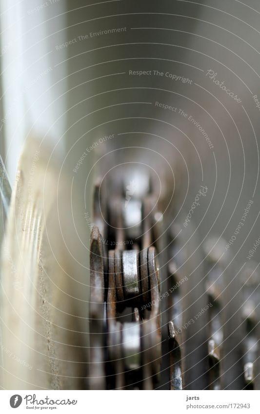 antrieb Farbfoto Außenaufnahme Nahaufnahme Detailaufnahme Makroaufnahme Menschenleer Tag Starke Tiefenschärfe Zentralperspektive Fahrrad Getriebe Verkehrsmittel