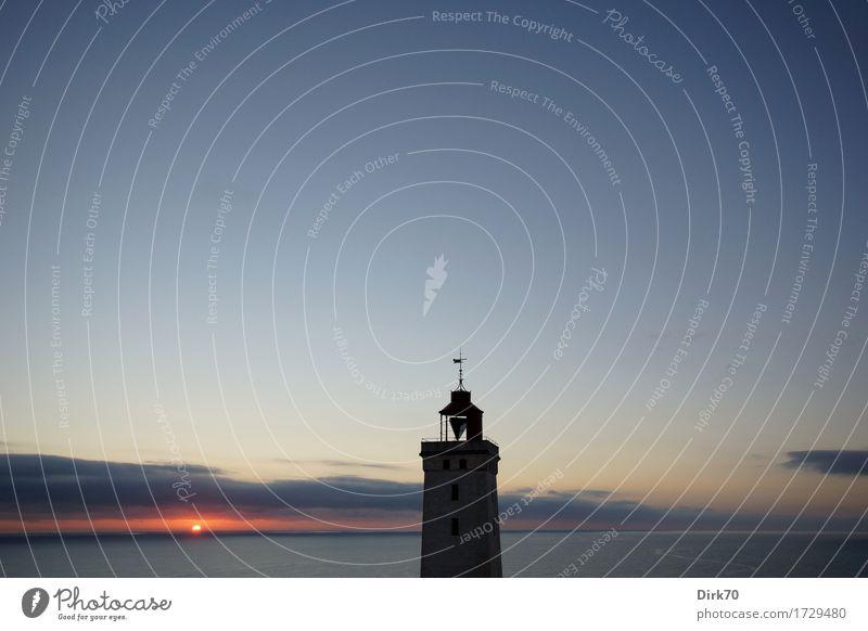 Am Ende eines langen Sommertages. Ferien & Urlaub & Reisen Abenteuer Ferne Sommerurlaub Umwelt Natur Landschaft Himmel Sonne Sonnenaufgang Sonnenuntergang
