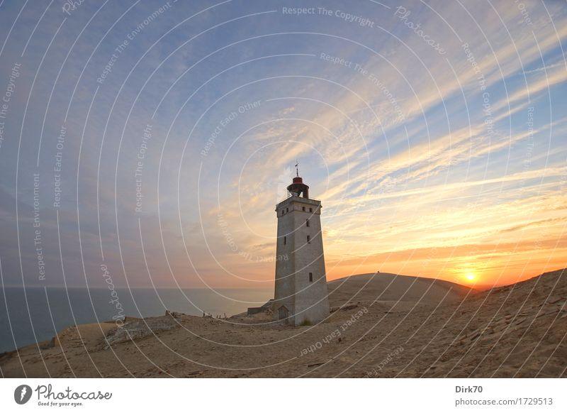 Another day is dawning. Ferien & Urlaub & Reisen Sommer Strand Umwelt Landschaft Himmel Wolken Sonne Sonnenaufgang Sonnenuntergang Schönes Wetter Küste Nordsee