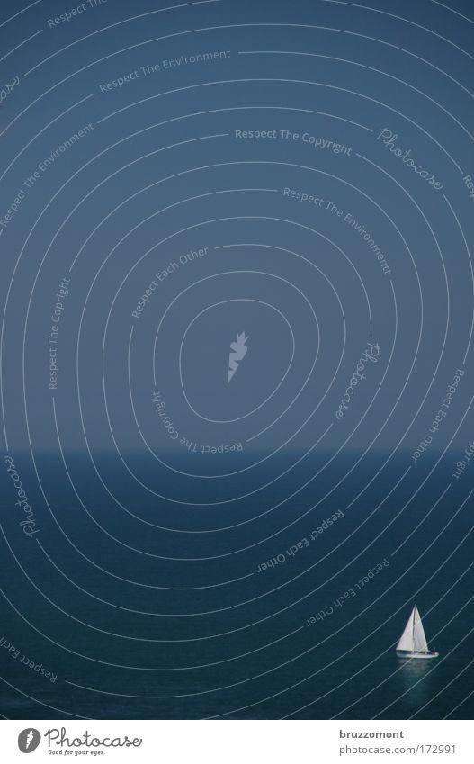 """48°41´15.71"""" N, 2°19´13.78 W blau Wasser schön Ferien & Urlaub & Reisen Meer Sommer ruhig Ferne Gefühle Freiheit Glück Luft Zufriedenheit Freizeit & Hobby groß"""