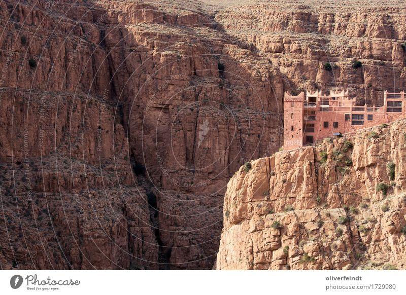 Marokko - Gorges du Dades Ferien & Urlaub & Reisen Ausflug Abenteuer Ferne Freiheit Expedition Umwelt Natur Landschaft Urelemente Erde Sand Schönes Wetter Hügel