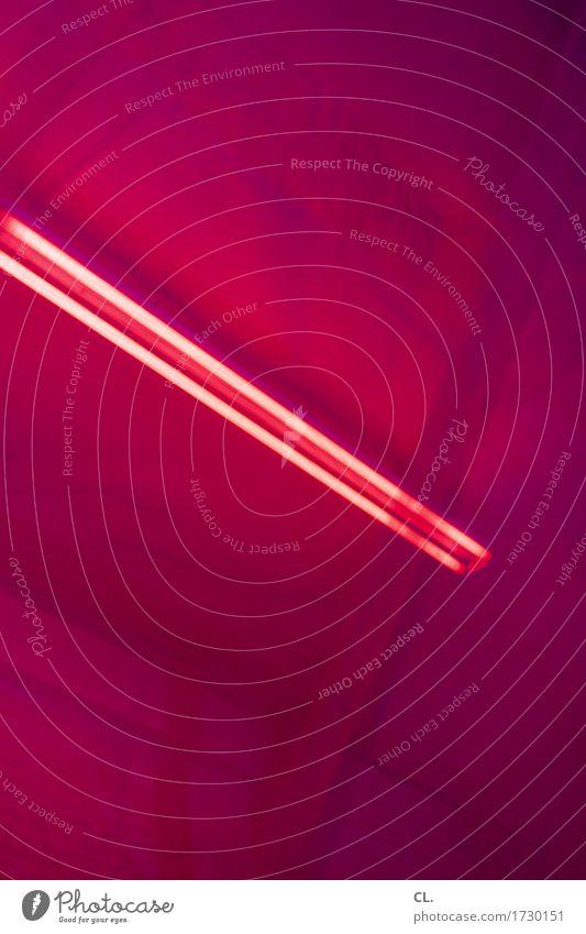 neon Raum Decke Neonlampe ästhetisch außergewöhnlich violett rot Farbe geheimnisvoll Vorhang Farbfoto Innenaufnahme Experiment abstrakt Menschenleer