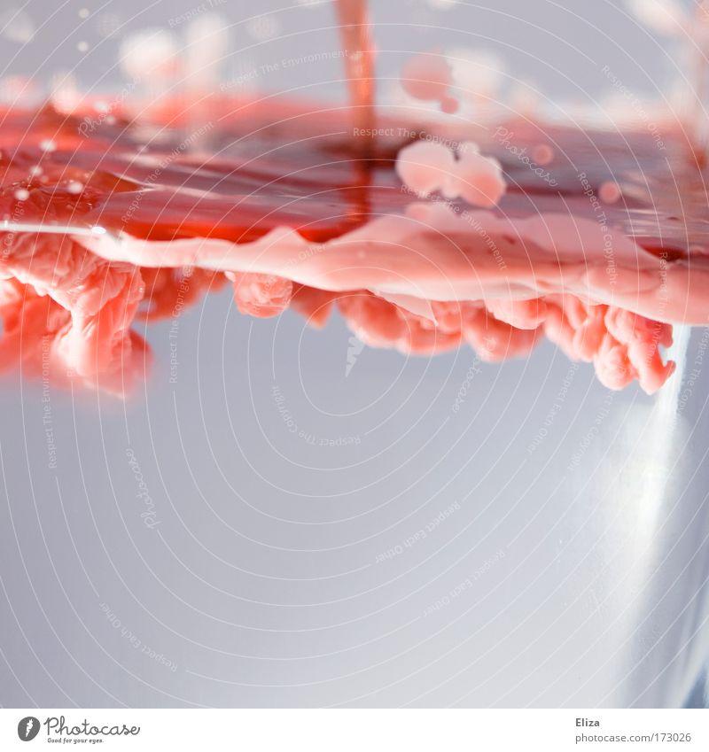 The Wax Experience Wasser blau rot kalt Wärme abstrakt Glas heiß Flüssigkeit Dynamik bewegungslos Wachs interessant