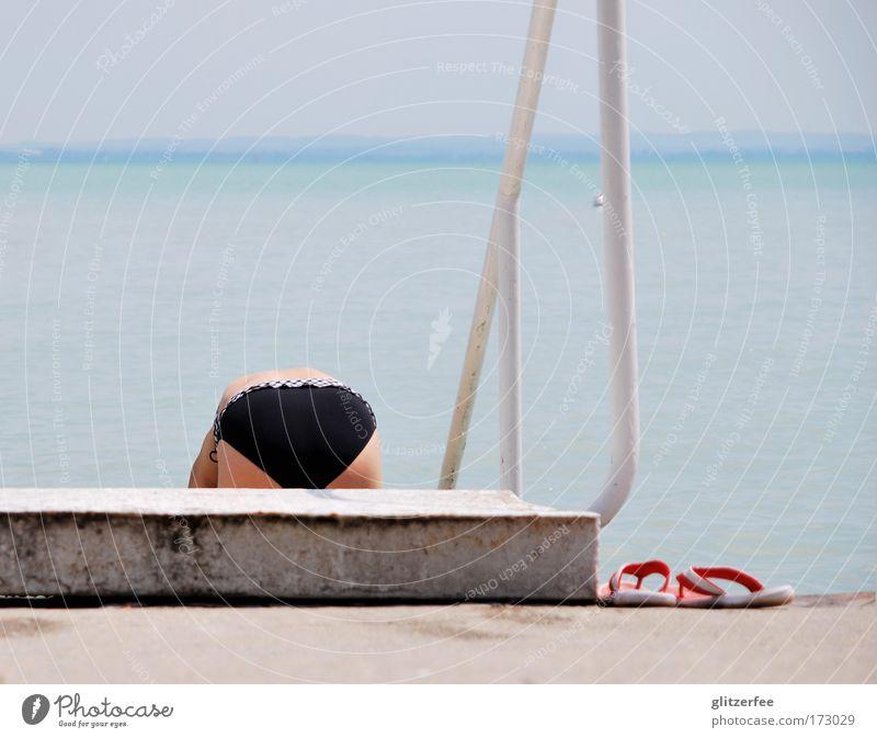 findet nemo Mensch Frau Himmel Natur Wasser Ferien & Urlaub & Reisen Sommer Sonne Strand Erwachsene Erholung feminin Küste See Schwimmen & Baden Wetter