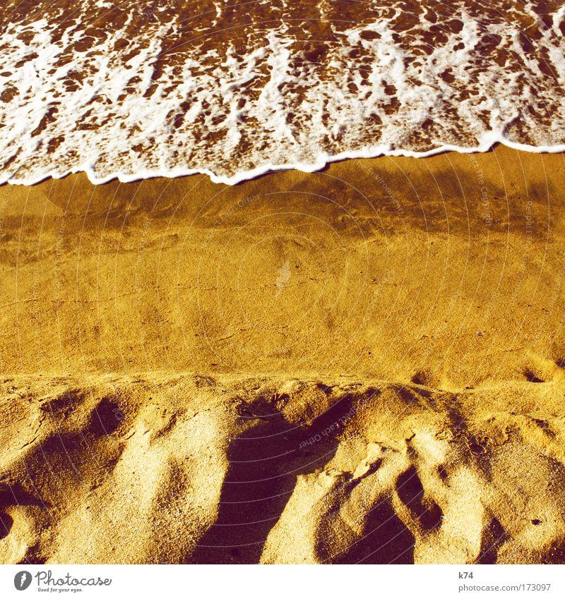 o.T. Sonne Meer Sommer Strand Sand Küste Wellen Erde Flüssigkeit Seeufer Urelemente Ostsee Nordsee fließen Sommerurlaub Composing