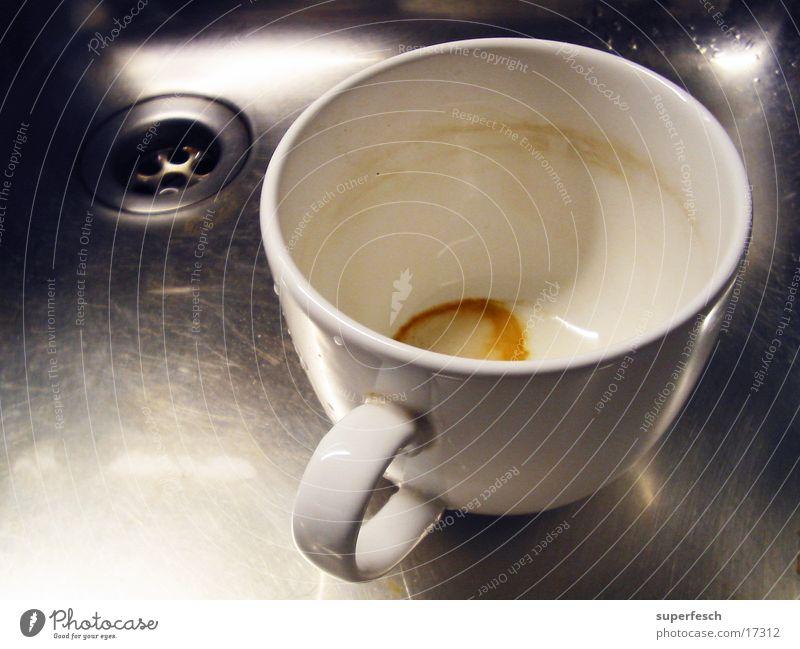 Nirosta und Tasse [2] Waschbecken Stahl Abfluss Grüner Tee Geschirrspülen Küche Schalen & Schüsseln Häferl