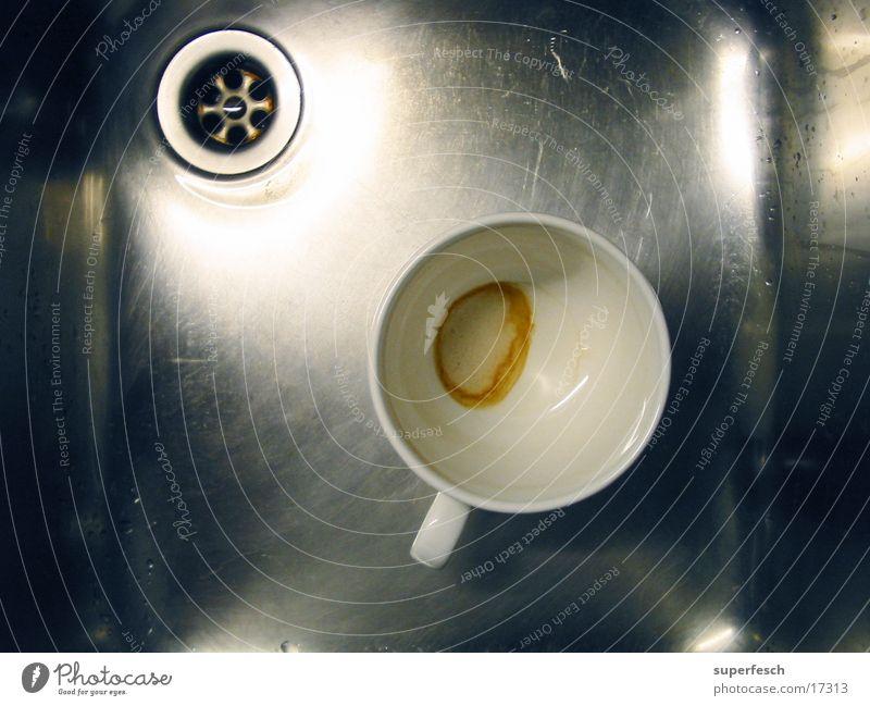 Nirosta und Tasse [3] Küche Stahl Geschirr Tasse Schalen & Schüsseln Abfluss Waschbecken Geschirrspülen Grüner Tee