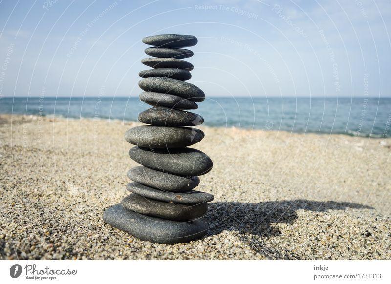 Zeit zum Sammeln      Freizeit & Hobby Ferien & Urlaub & Reisen Sommer Sommerurlaub Sonne Sonnenbad Strand Meer Natur Sand Wasser Himmel Wolkenloser Himmel