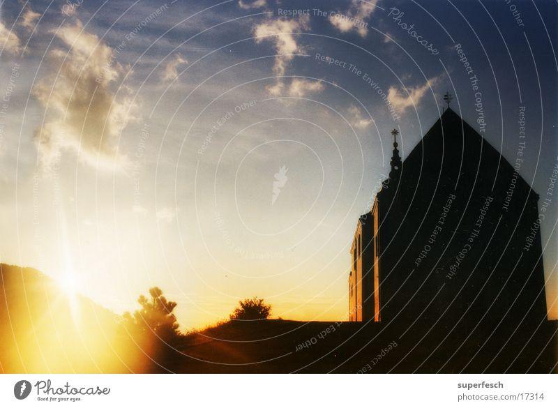 Gottes Haus Himmel Religion & Glaube Rücken Gotteshäuser