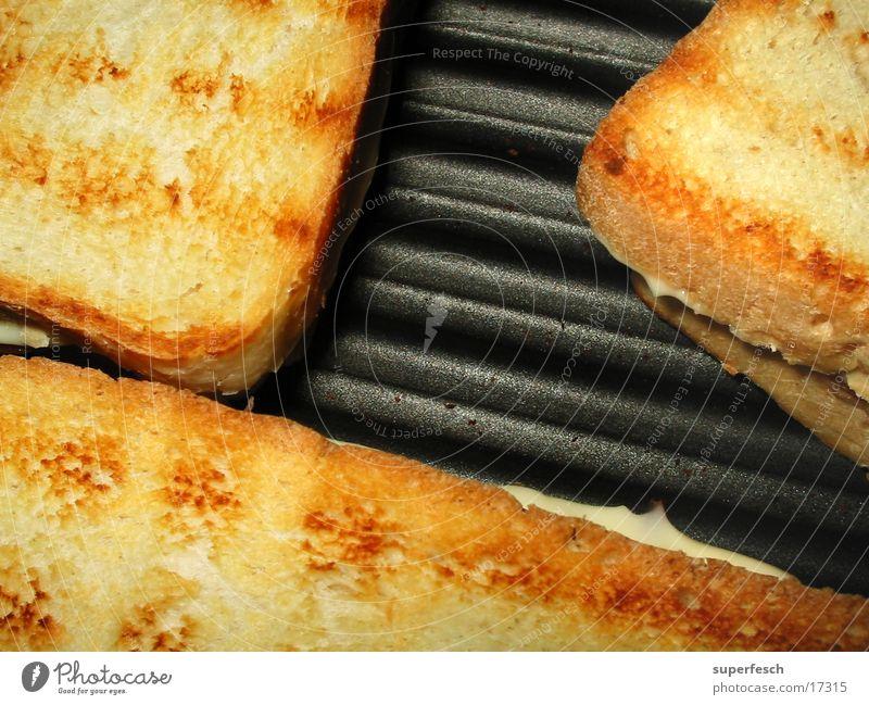 Mampf Grill Käse Brot Ernährung Toastbrot toasten