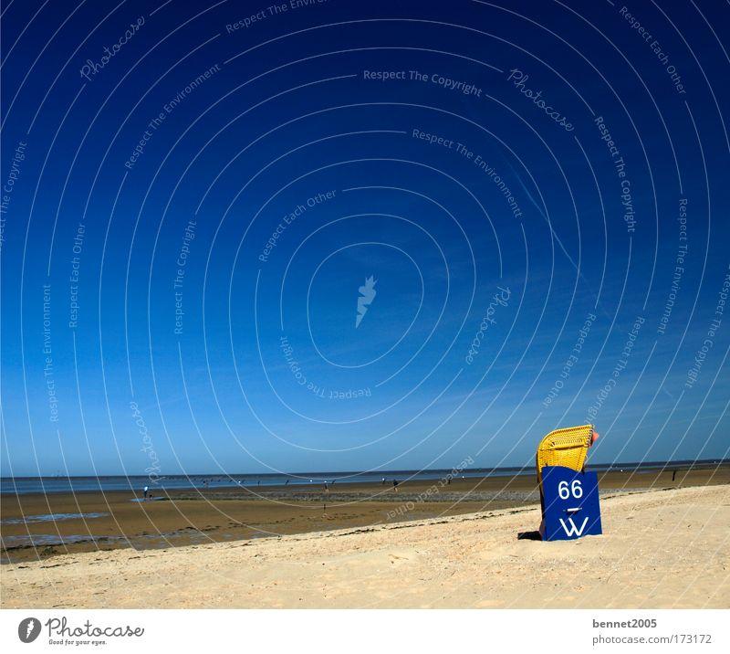 Sommer am Meer Leben Zufriedenheit Erholung ruhig Ferien & Urlaub & Reisen Ausflug Sommerurlaub Sonne Sonnenbad Strand Natur Wasser Himmel Wolkenloser Himmel