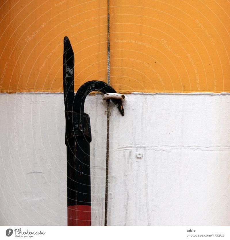 (KI09.01) Enter alt weiß rot Ferien & Urlaub & Reisen Meer schwarz Ferne gelb Arbeit & Erwerbstätigkeit Holz Metall Wasserfahrzeug bedrohlich Schifffahrt Tradition anstrengen