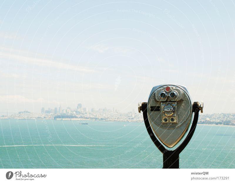 Tolle Aussichten. Management Stadt Sommer Ferne Singapore Wetter Hochhaus Tourismus planen Zukunft USA Ziel Reisefotografie Mitte Skyline Aussicht