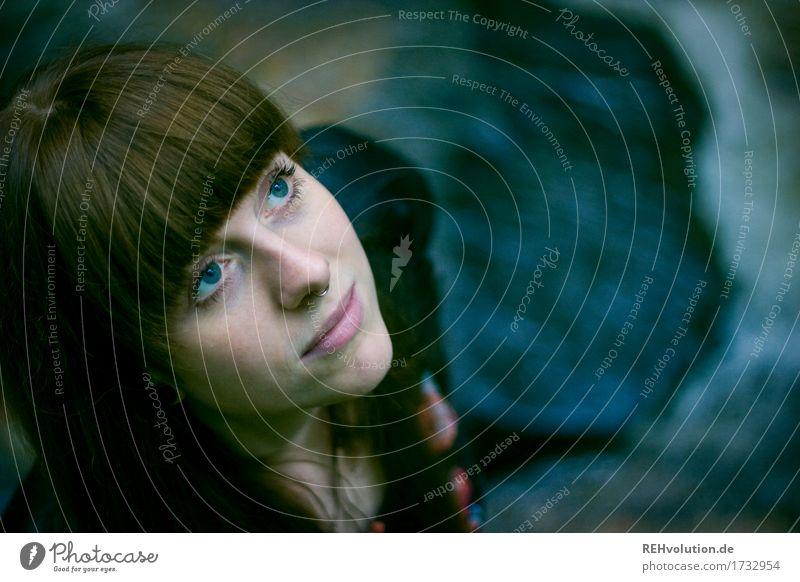 Carina im Bach Mensch Frau Natur Jugendliche schön Junge Frau 18-30 Jahre Gesicht Erwachsene Umwelt natürlich Religion & Glaube feminin Glück außergewöhnlich