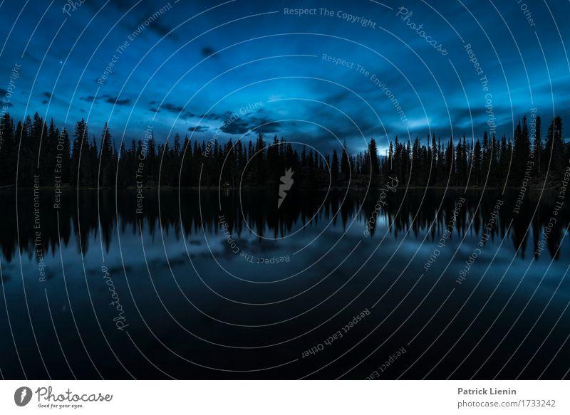 Lost Lake schön Ferien & Urlaub & Reisen Abenteuer Ferne Freiheit Sommer Berge u. Gebirge Umwelt Natur Landschaft Himmel Wolken Klima Klimawandel Wetter Baum