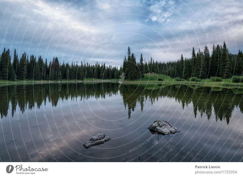 Sand Lake schön Ferien & Urlaub & Reisen Tourismus Abenteuer Sommer Berge u. Gebirge Umwelt Natur Landschaft Urelemente Erde Himmel Wolken Klima Wetter
