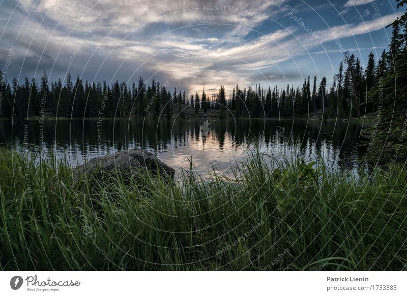 Lost Lake schön Ferien & Urlaub & Reisen Tourismus Abenteuer Sommer Berge u. Gebirge Umwelt Natur Landschaft Himmel Wolken Klima Wetter Baum Park Wiese Wald See