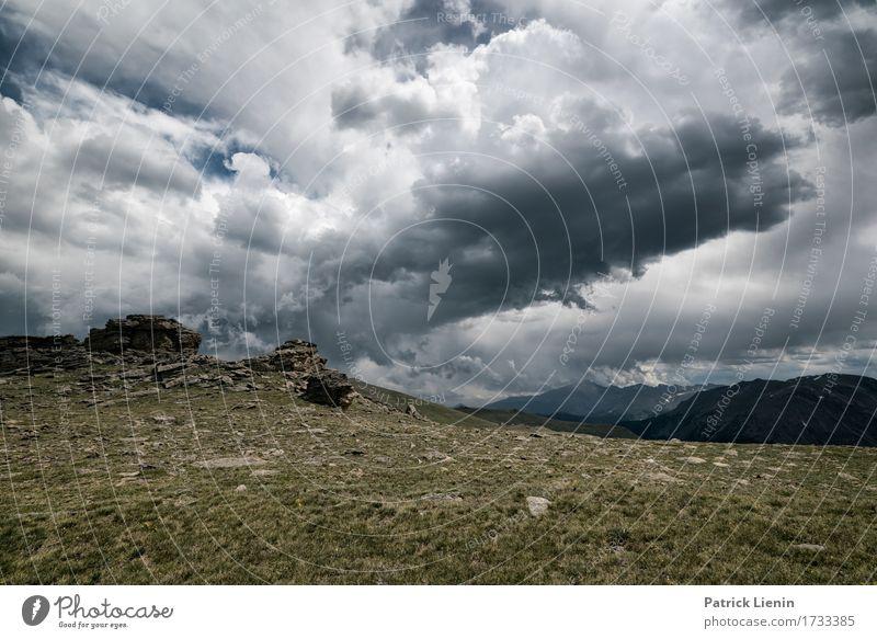 Donnerwetter schön Ferien & Urlaub & Reisen Tourismus Abenteuer Ferne Freiheit Sommer Berge u. Gebirge Umwelt Natur Landschaft Himmel Wolken Klima Klimawandel