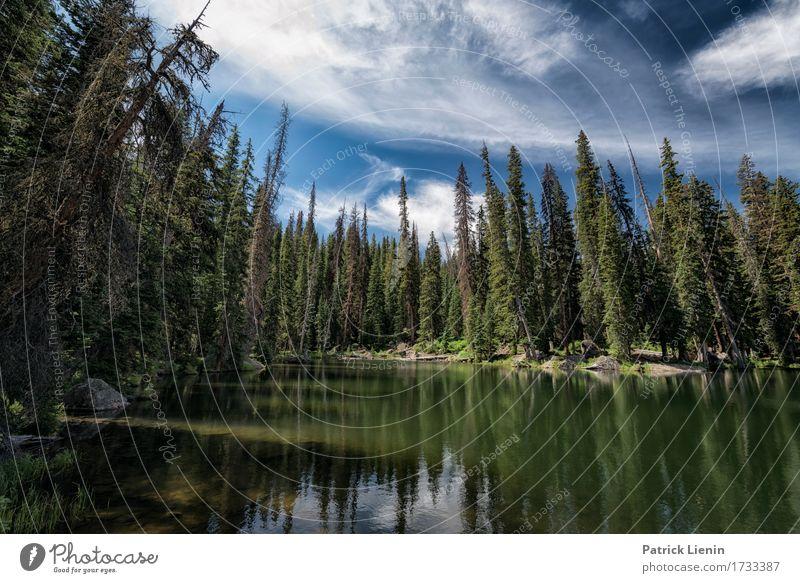 Lost Lake schön Ferien & Urlaub & Reisen Tourismus Abenteuer Sommer Berge u. Gebirge Umwelt Natur Landschaft Himmel Wolken Klima Klimawandel Wetter