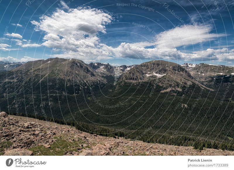 Himmel Natur Ferien & Urlaub & Reisen blau Sommer schön grün Baum Landschaft Wolken Wald Berge u. Gebirge Umwelt Wege & Pfade Wiese natürlich