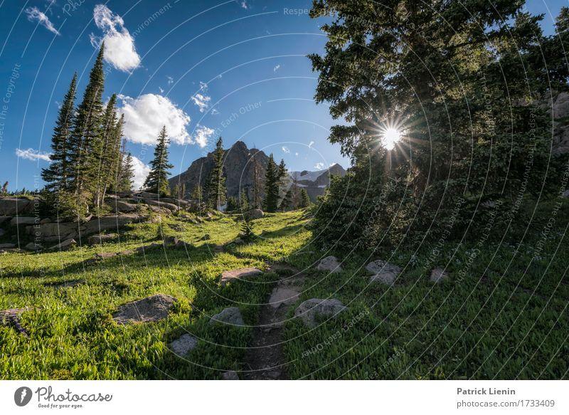 Eagles Nest schön Ferien & Urlaub & Reisen Tourismus Abenteuer Sommer Sonne Berge u. Gebirge wandern Umwelt Natur Landschaft Himmel Wolken Baum Gras Park Wiese