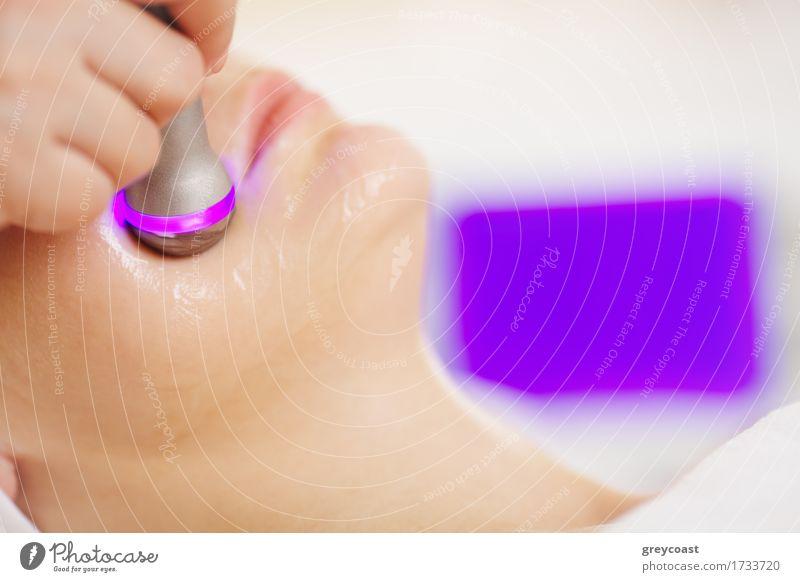 Mensch Frau Mädchen Gesicht Erwachsene Gesundheitswesen Fröhlichkeit Haut Beautyfotografie horizontal heben Spa Therapie Behandlung professionell Methode