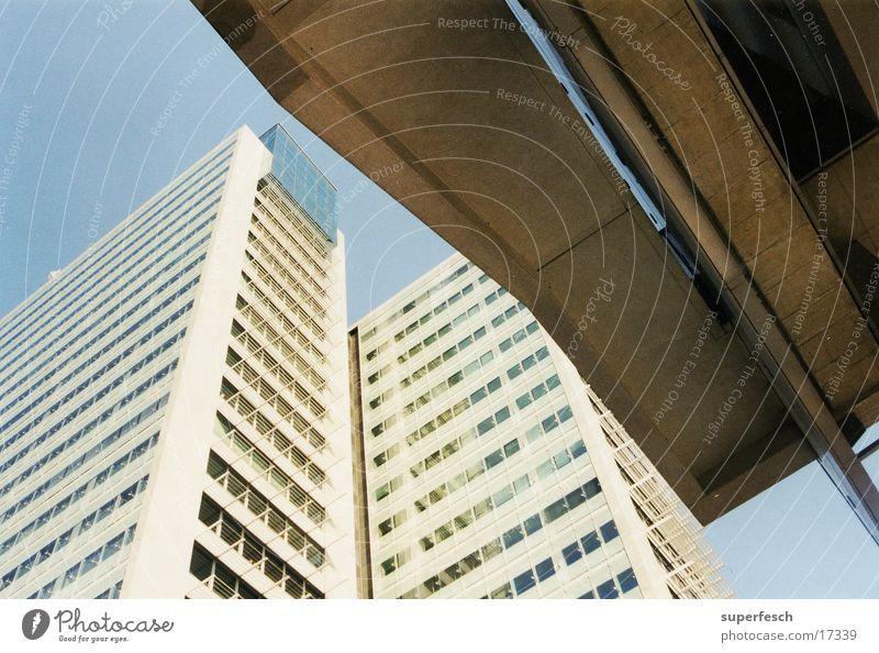Donaucity Stadt Wien Hochhaus Beton Architektur Glas