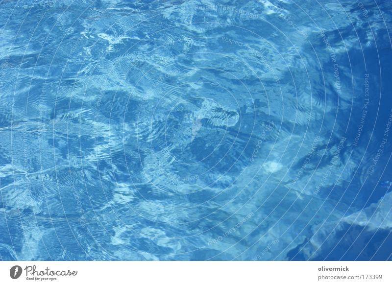 Wasser Natur blau Sommer Erholung ruhig Freizeit & Hobby Wellen Wassertropfen Sauberkeit Urelemente Schwimmbad Körperpflege tauchen Flüssigkeit Spa