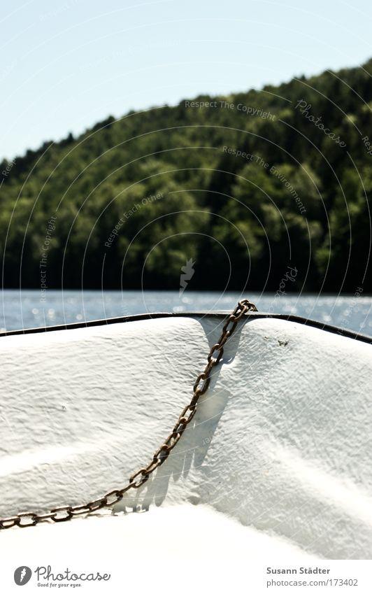 Ein Wind weht von Süd... Wasser Sonne Sommer Ferne Wald Küste Wasserfahrzeug Freizeit & Hobby Schwimmen & Baden Ausflug Abenteuer Tourismus Fluss Seeufer Segeln Im Wasser treiben