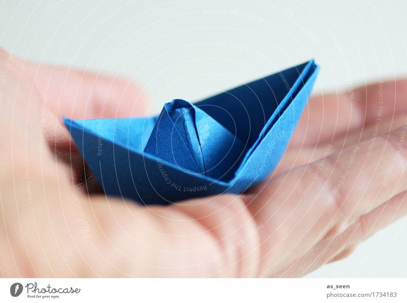 Urlaubsplanung Wellness Freizeit & Hobby Basteln Modellbau Ferien & Urlaub & Reisen Tourismus Sommerurlaub Meer Schifffahrt Bootsfahrt Segelboot Papier Zeichen