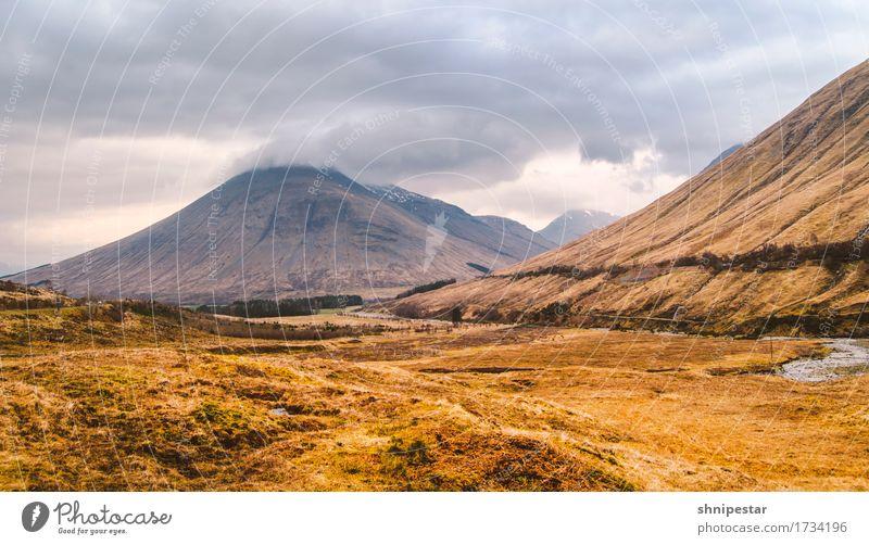 Scottish Love Himmel Natur Ferien & Urlaub & Reisen Pflanze Landschaft Wolken Berge u. Gebirge Umwelt Frühling Tourismus Freundschaft Regen Wetter Erde wandern