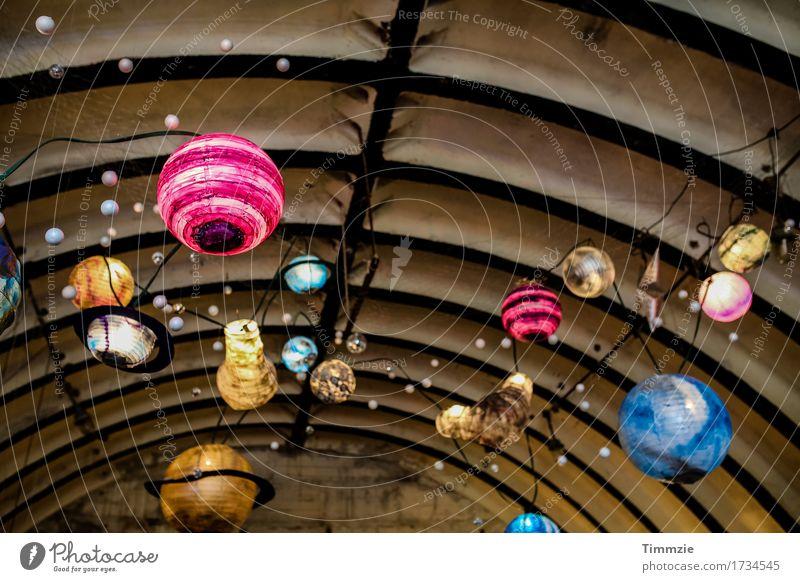 deco art Dekoration & Verzierung Discokugel Design Kunst Lampe Lampion Innenaufnahme Detailaufnahme