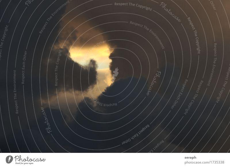 Wolken Durchbruch Loch Überfahrt Öffnung Lichterscheinung Blauer Himmel Wetter Strukturen & Formen Kumulus Hoffnung Meteorologie Luft Atmosphäre Umwelt Klima