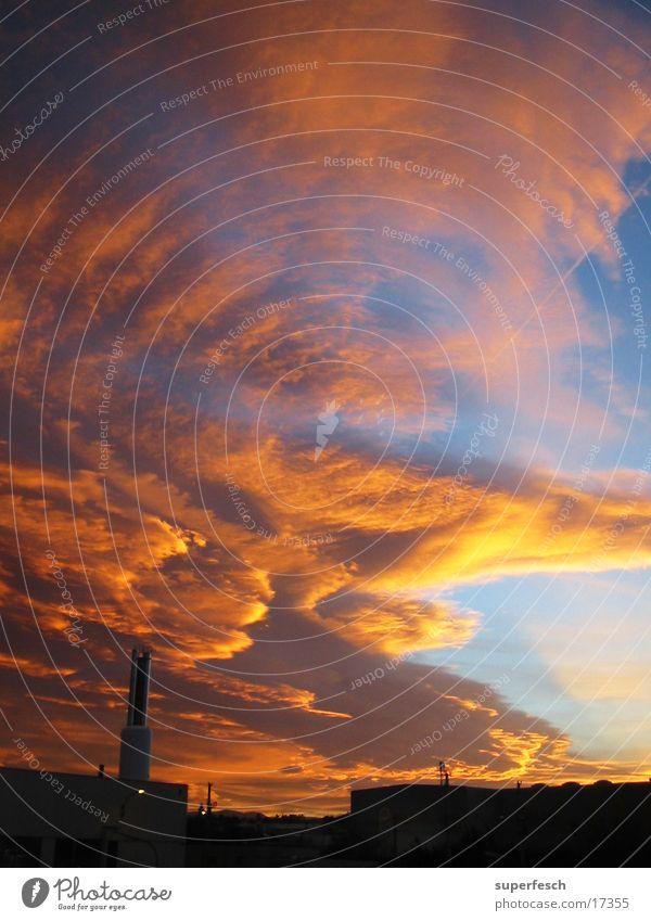 Zerwolknis v.2 Himmel Wolken Farbenspiel